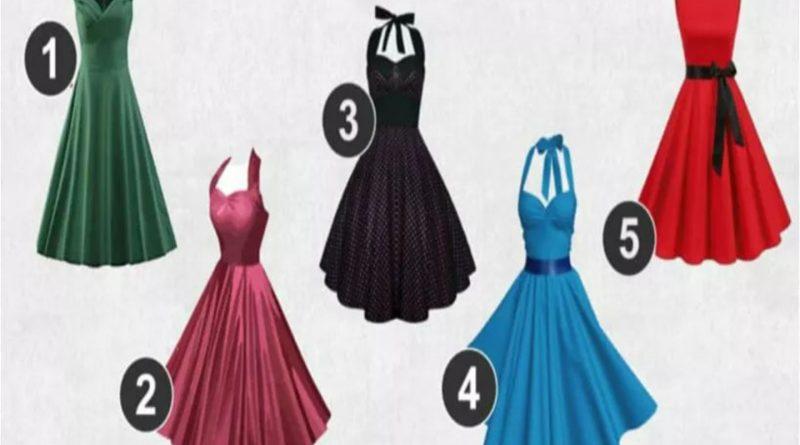 Rochia pe care o vei alege îți va dezvălui ceva important despre feminitatea ta.