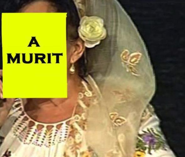 Muzica populară din România este în doliu